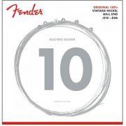 Encordoamento para Guitarra ACO 0.010 150R Niquelada Fender