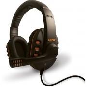 Fone de Ouvido com Microfone Action Headset P2 C/VOLUME PTO
