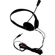 Fone de Ouvido com Microfone Headphone Stereo PLUG P2