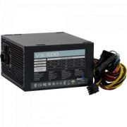 Fonte ATX S/CABO 500W VX-500 EN57136 Preto Aerocool
