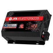 Fonte Carregador Bateria JFA 120A Bivolt Automatico Display