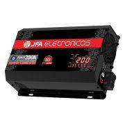 Fonte Carregador Bateria JFA 200A Bivolt Automatico Display