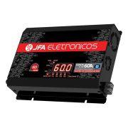 Fonte Carregador Bateria JFA 60A Bivolt Automatico Display