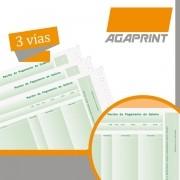 Formulario Continuo Impresso AUTO.LAB-04 3 Vias C/BLOQUEIO