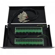 """Gaveta BOX 19"""" 32 Canais Structural MAX Eletron"""