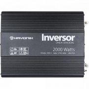 Inversor de ONDA Senoidal 2000W 12VDC/127V PW21-2 Hayonik
