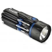 Lanterna Importada LED Versatil 8 em 1 Preta