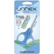 Linha Classic(higiene Pessoal) Tesoura+cortador BABY AZUL