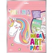 Livro Infantil Colorir Unicornios Super Color PACK