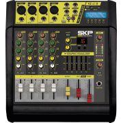 Mesa de Som Amplificada  4 Canais 400W  com MP3, Entrada USB , com Efeitos VZ-40A II