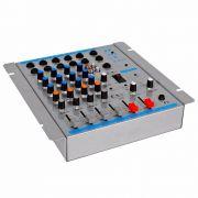 Mesa de Som Oneal OMX-412 4 Canais Stereo + 1 Auxiliar