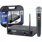 Microfone sem Fio de Mao DVS100SM Vokal