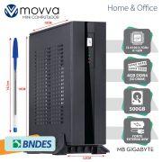 Mini Computador HYDRO INTEL I3-6100 3.7GHZ 6A GER. MEM. 4GB HD 500GB HDMI/VGA Fonte 60W Linux - MVHYMI3H1105004