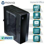 Mini Computador Lite INTEL Dual Core J1800 2.41GHZ Memoria 4GB SSD 120GB HDMI/VGA Fonte 130W Linux - MVMLIJ1800S1204