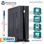 Mini Computador Lite Pentium G4560 3.5GHZ 7A GER. MEM. 4GB HD 500GB HDMI/VGA Fonte 60W Linux - MVLIMG4560H1105004