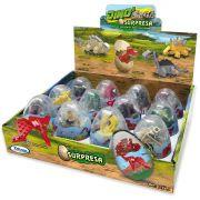 Miniatura Colecionavel Dino Saga OVO Surpresa