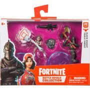 Miniatura Colecionavel Fortnite Mini 2 Bonecos C/ACES