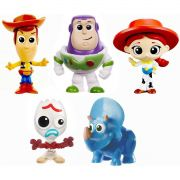Miniatura Colecionavel TOY STORY 4 PCK 5 Mini FIG.