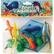 Miniatura Colecionavel Zoo Aquatico C/12 Pecas