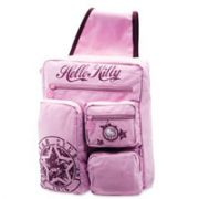 Mochila com ALCA Unica Hello KITTY CLUB STAR Rosa