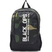 Mochila Escolar BLACK OPS Camuflado 50CM