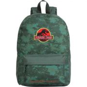 Mochila Escolar Jurassic WORLD Camuflada GD