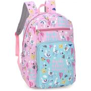 Mochila Escolar UP4YOU GD 2BOLSOS PINK (6941690723241)