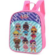 Mochila Escolar UP4YOU Petit LOL PQ Rosa