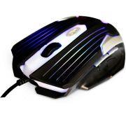 Mouse Optico Gamer C3 TECH MG-11 BSI Preto e Prata (000002702575)