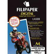 Papel Fotografico Laser A4 Matte Profissional 180G