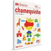 Papel Sulfite A4 Chamequinho 75G.BCO C/100F (0000000793742)