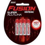 Pilha Alcalina Palito AAA Fusion 12BLISX4UNID