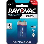 Pilha Bateria 9V Alcalina 12 Blisters X 1 UNID.
