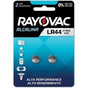 Pilha Bateria Botao LR44 1,5V. Alcalina