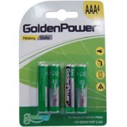 Pilha Golden Power ULTRA Power Heavy DUTY AAA 1,5V Embalagem com 4