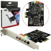 Placa de Som PCI-EXPRESS com 5 Canais DP-65 DEX