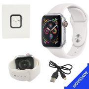 Relogio Inteligente Smartwatch Bluetooth Multi Funcoes Branco SMART Bracelet SMART Bracelet Generico