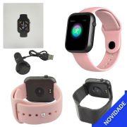 Relogio Inteligente Smartwatch Bluetooth Multi Funcoes Rosa SMART Bracelet SMART Bracelet Generico