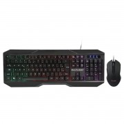 Teclado e Mouse Gamer 2400DPI TC239