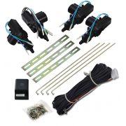 Trava Eletrica Isoflex KIT 4 Portas Universal Espaguetado