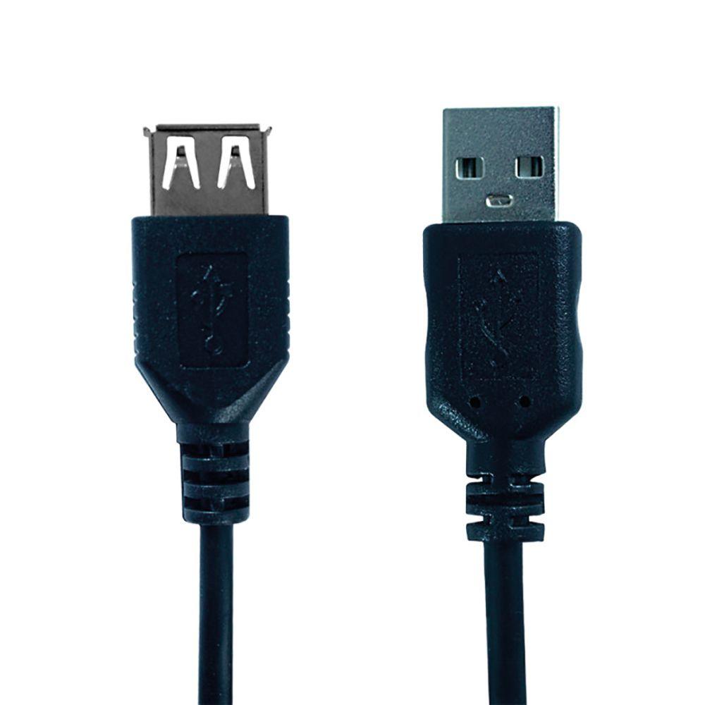 Cabo Hardline USB a Macho a Femea 2.0 3M HL-USB AM-AF03