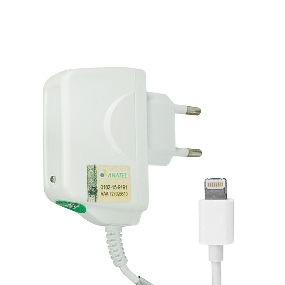 Carregador Tomada X-CELL iPhone 5 6 7 1A Anatel