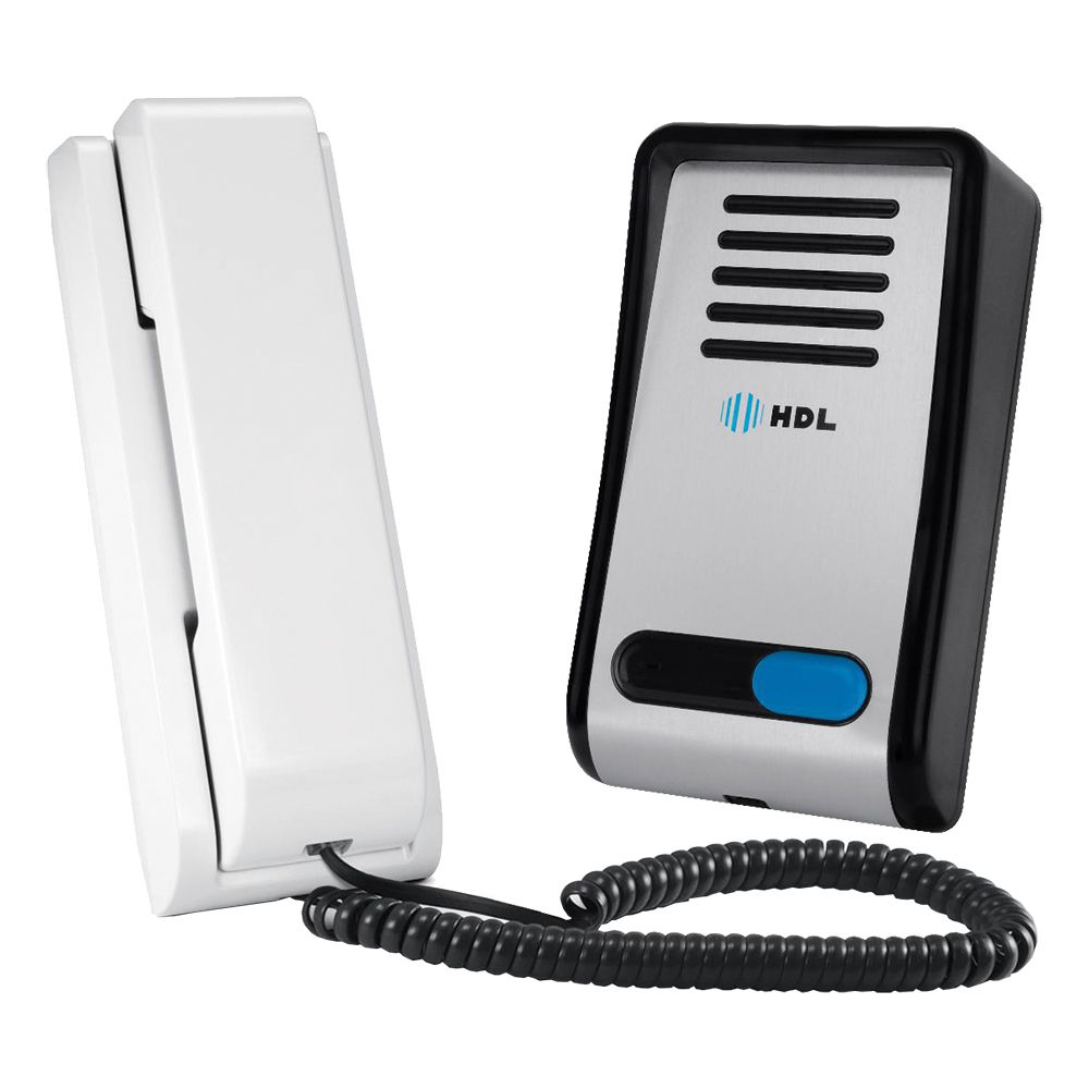 Kit Porteiro Eletronico HDL F8-S com Interfone AZ-S Alumin