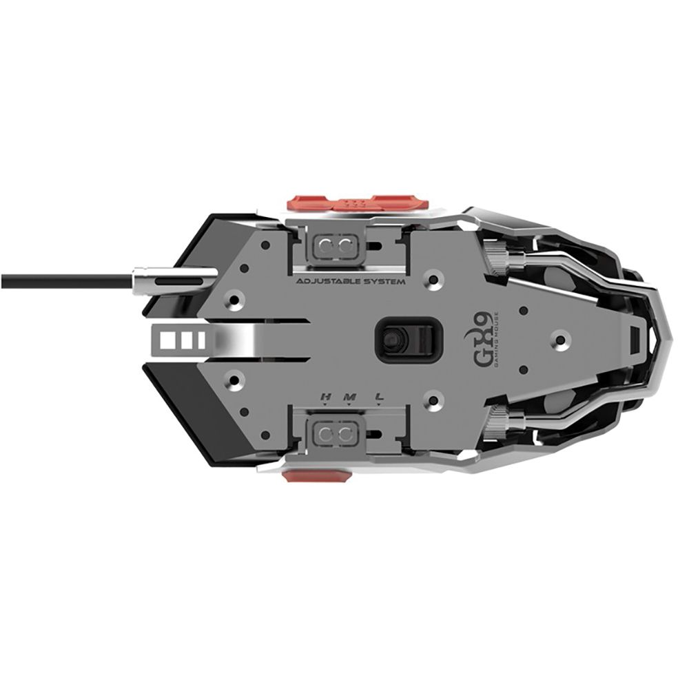 Mouse Gamer Gamemax GX9 Mecanico BLACK