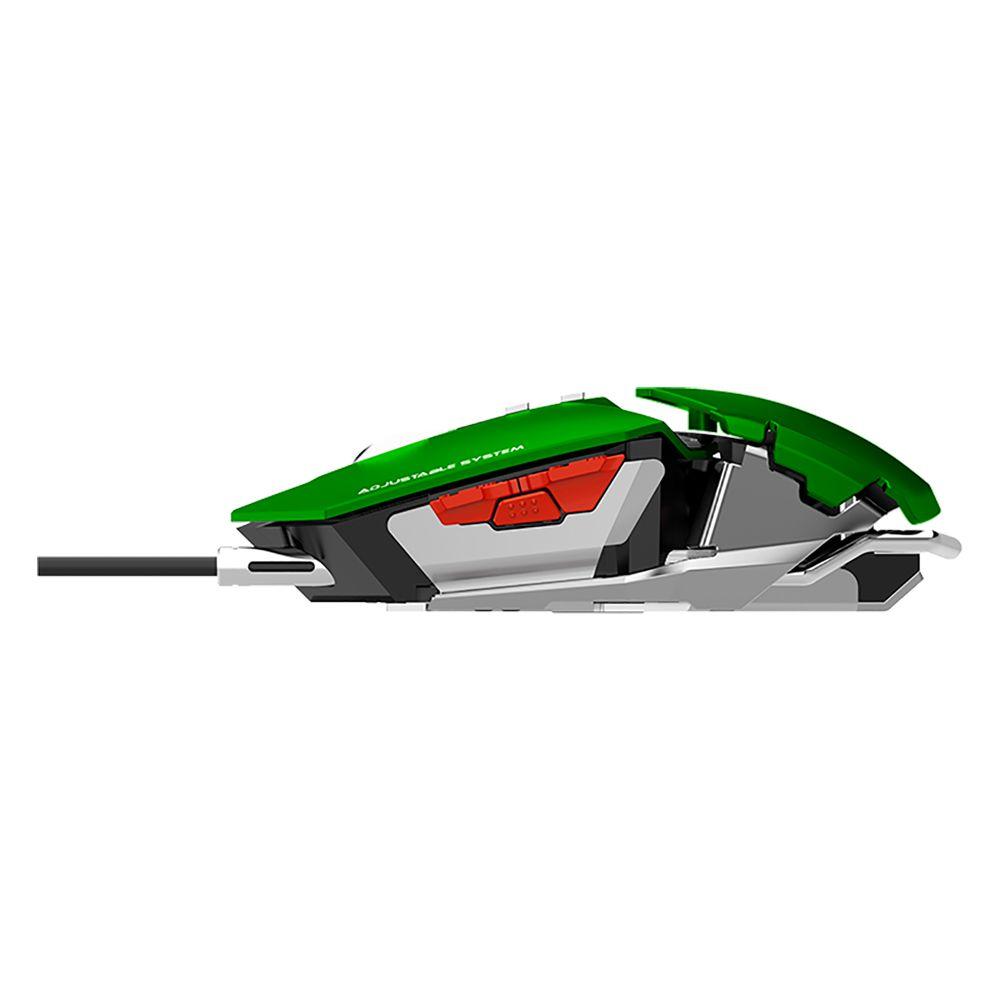 Mouse Gamer Gamemax Mecanico GX9 Green