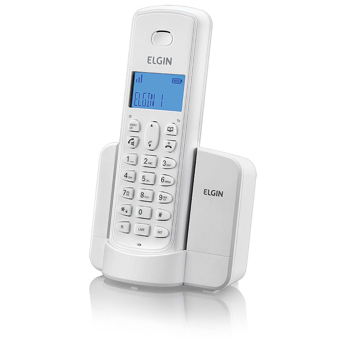 Telefone sem Fio com Identificador e Viva VOZ TSF8001 BR