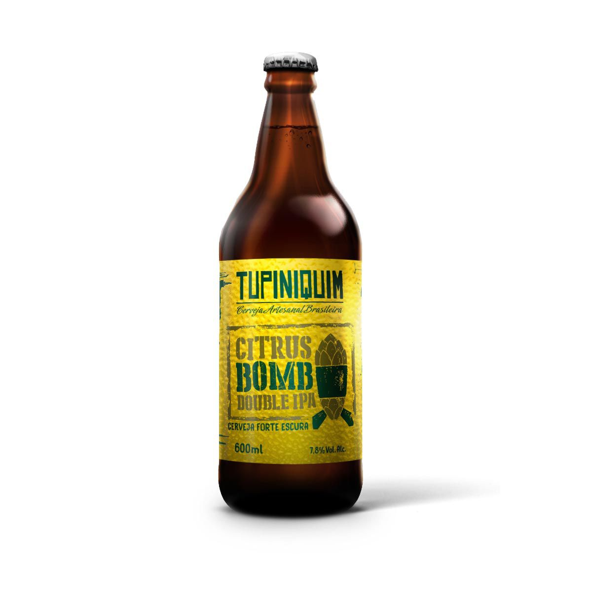 Tupiniquim Citrus Bomb Double IPA 600ml