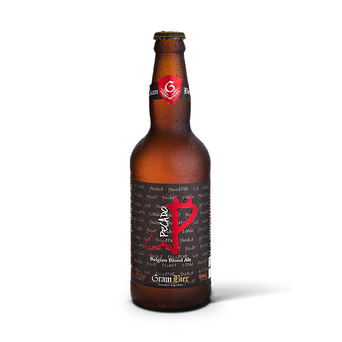 Gram Bier Belgian Blond Ale Pecado 500ml