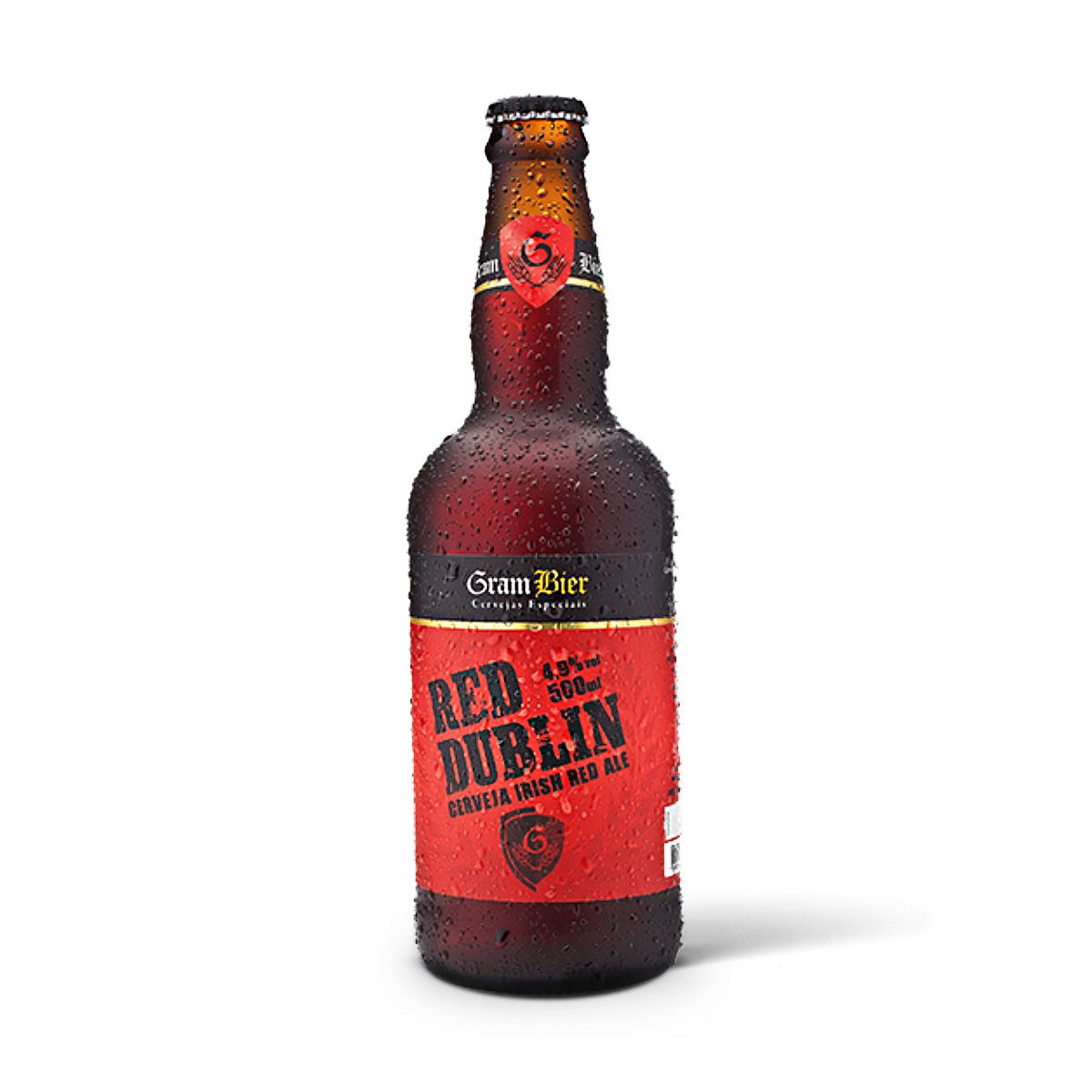 Gram Bier Irish Red Ale Red Dublin 500ml