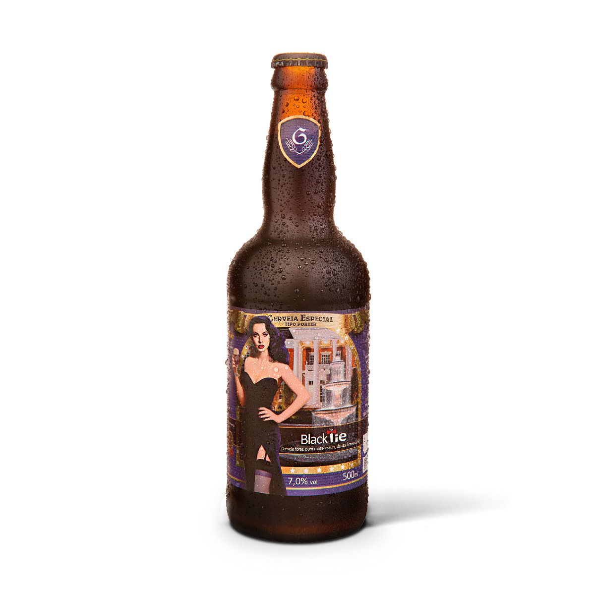 Gram Bier Porter Black Tie 500ml